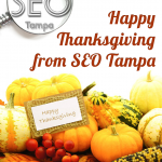 SEO Tampa wish Happy Thanksgiving